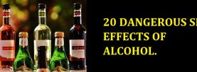 20 really dangerous side effects of Alcohol you didn't know